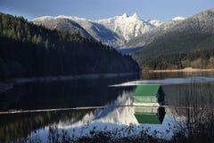 Capilano Milou deux montagnes Vancouver de lions Photo stock