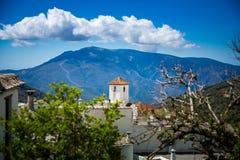Capileira dorp Royalty-vrije Stock Afbeelding