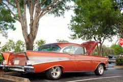 Capilla abierta del coche retro Fotografía de archivo