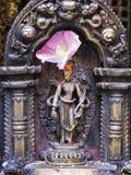 Capilla adornada en Nepal Fotos de archivo libres de regalías