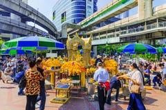 Capilla Bangkok de Erawan Fotos de archivo libres de regalías