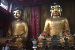 Capilla budista Imagenes de archivo