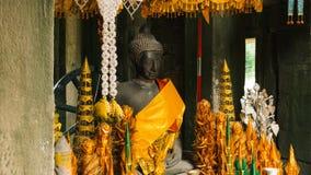 Capilla budista en el kdei banteay Imagenes de archivo