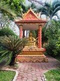 Capilla budista en Wat Si Saket Imágenes de archivo libres de regalías
