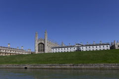 Capilla Cambridge de la universidad de los reyes imágenes de archivo libres de regalías