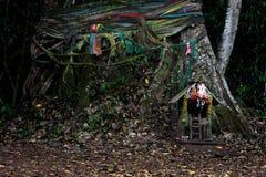 Capilla, casa de ídolo chino Imagen de archivo libre de regalías
