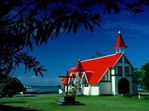 Capilla, casquillo Malheureux, Isla Mauricio foto de archivo