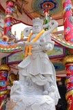 Capilla china del arte en Tailandia Es la adoración de la gente en Chonburi, Tailandia Imagen de archivo