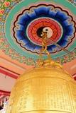 Capilla china del arte en Tailandia Es la adoración de la gente en Chonburi, Tailandia Imagen de archivo libre de regalías