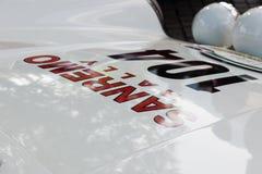 Capilla clásica del sur del _front del Tyrol cars_2015_Porsche 911 Carrera RS Foto de archivo