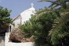Capilla crete Grecia fotografía de archivo