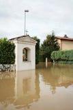 Capilla cristiana inundada Fotos de archivo