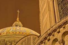 Capilla de última hora de la basílica de invierno de la Inmaculada Concepción Imagen de archivo libre de regalías