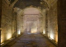 Capilla de Amun, templo de Abydos Fotos de archivo libres de regalías