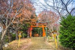 Capilla de Arakura Sengen fotografía de archivo