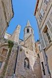 Capilla de Blancs de los Penitents en Avignon, Francia Fotografía de archivo libre de regalías