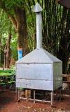 Capilla de cocina al aire libre hecha a mano en Tailandia Fotografía de archivo libre de regalías