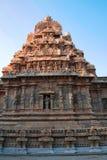 Capilla de Deivanayaki Amman, adyacente al templo de Airavatesvara, Darasuram, Tamil Nadu Visión desde el oeste Imagen de archivo libre de regalías
