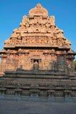 Capilla de Deivanayaki Amman, adyacente al templo de Airavatesvara, Darasuram, Tamil Nadu Visión desde el oeste Fotografía de archivo libre de regalías