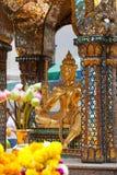 Capilla de Erawan; Bangkok Imagenes de archivo