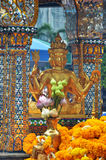 Capilla de Erawan, capilla hindú en Bangkok Imagenes de archivo