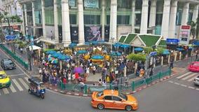 Capilla de Erawan en Bangkok Fotos de archivo