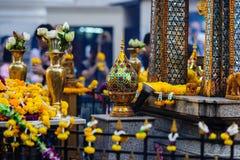 Capilla de Erawan en Bangkok, Tailandia fotografía de archivo