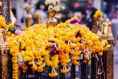 Capilla de Erawan en Bangkok, Tailandia imagen de archivo libre de regalías
