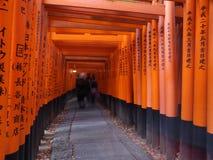 Capilla de Fushimi Inari Foto de archivo libre de regalías