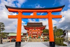 Capilla de Fushimi Inari Imagen de archivo libre de regalías