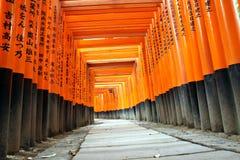 Capilla de Fushimi Inari Imagenes de archivo