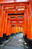 Capilla de Fushimi Inari en Japón Imagen de archivo libre de regalías