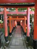 Capilla de Fushimi Inari - Kyoto, Japón foto de archivo