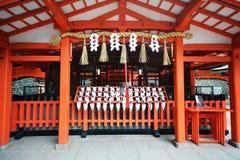 Capilla de Fushimi Inari, Kyoto, Japón Foto de archivo