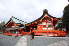 Capilla de Fushimi Inari Taisha Imagen de archivo