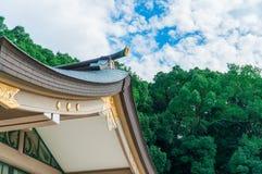 Capilla de Gokoku Imagen de archivo libre de regalías