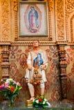 Capilla de Guadalupe del estatuto de Juan Diego Fotografía de archivo