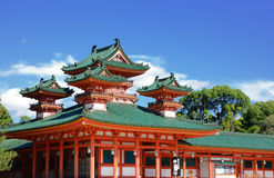 Capilla de Heian Imagenes de archivo