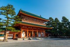 Capilla de Heian Fotografía de archivo libre de regalías