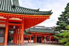 Capilla de Heian Fotos de archivo libres de regalías