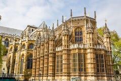 Capilla de Henry VII de la abadía de Westminster Imagen de archivo libre de regalías