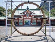 Capilla de Hie Jinja, Tokio, Japón foto de archivo libre de regalías