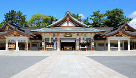 Capilla de Hiroshima Gokoku Imagen de archivo