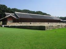 Capilla de Jongmyo en Seul Corea Imagen de archivo