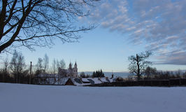 Capilla de Kalvariju en Vilna Imagenes de archivo