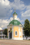 Capilla de Krasnogorsk St Sergius Lavra de la trinidad santa fotografía de archivo