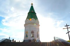 Capilla de Krasnoyarsk imágenes de archivo libres de regalías