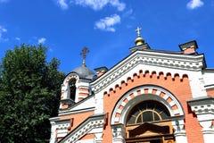 Capilla de la capilla del arcángel Michael Fotografía de archivo