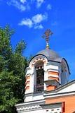 Capilla de la capilla del arcángel Michael en Moscú Fotos de archivo