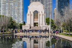 Capilla de la conmemoración, Sydney Fotografía de archivo libre de regalías